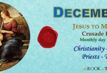 Chiến Dịch Cầu Nguyện tháng 12